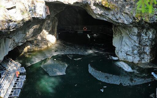 Экскурсия в пещеру мраморного каньона