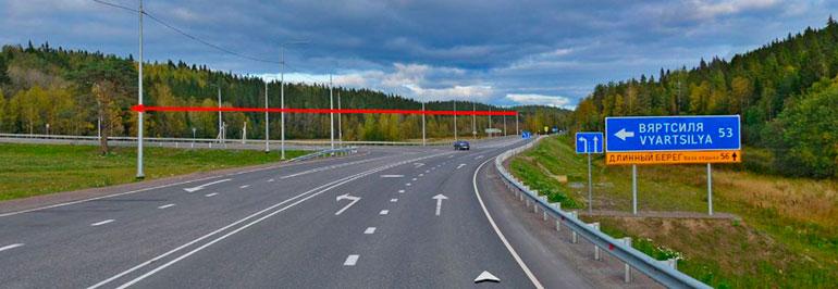 Как добраться из Санкт-Петербурга до Рускеалы на машине
