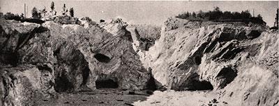 История возникновения парка Рускеала