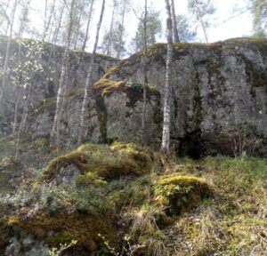Фото горы Сампо в Карелии