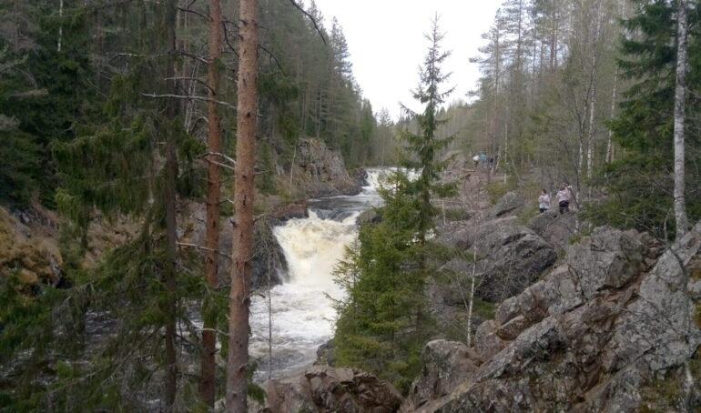 Водопад Кивач в Карелии, как добраться