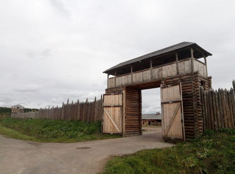 Крепость черного медведя в Карелии