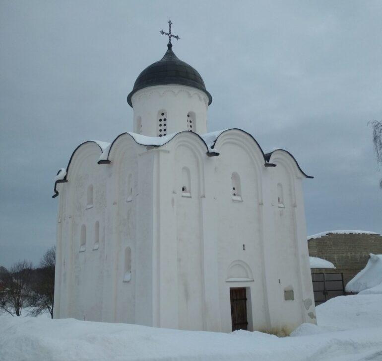 Храм Святого Георгия в Староладожской крепости