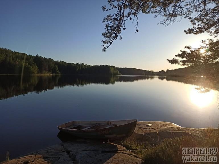 Природа на шхерах Ладожского озера
