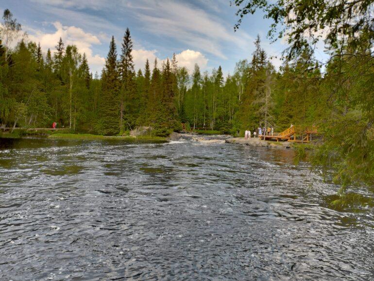 Рускеальские водопады фото