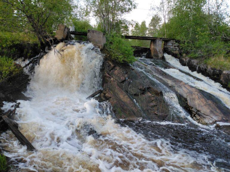 Водопад верхний Койриноя фото